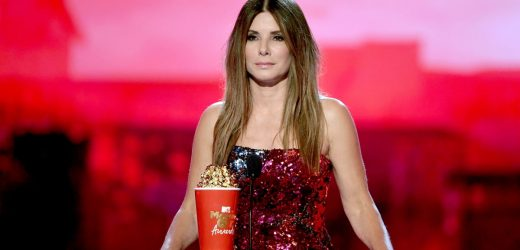 "Sandra Bullock's Sequined Top Is Fashion's Answer For ""the Best of Both Worlds"""