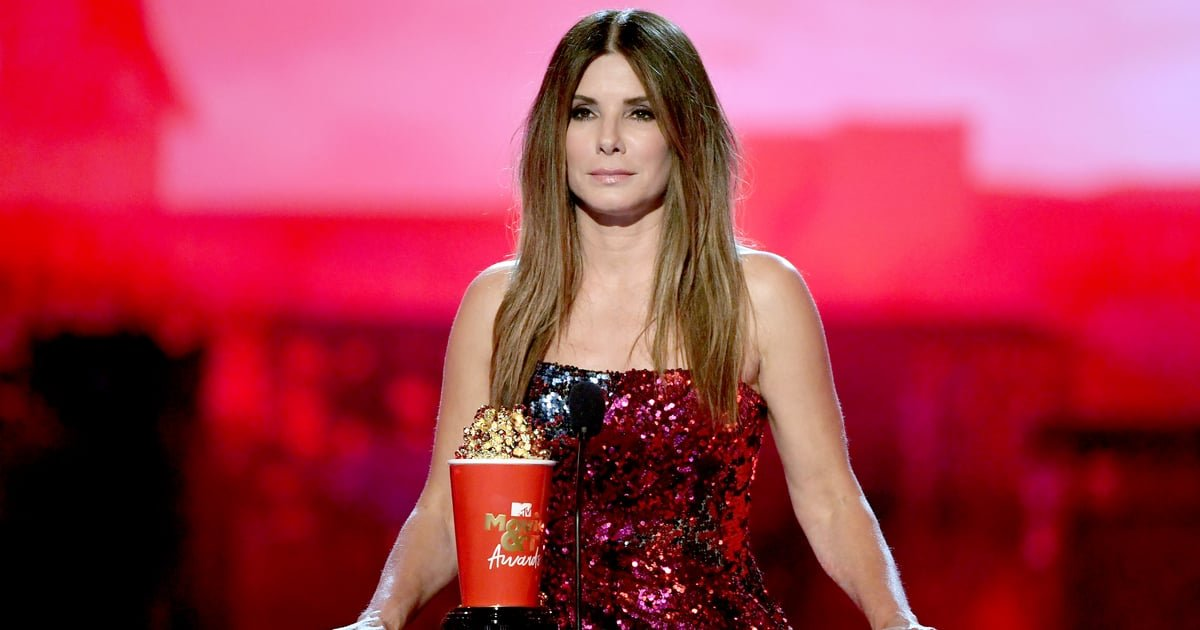 """Sandra Bullock's Sequined Top Is Fashion's Answer For """"the Best of Both Worlds"""""""