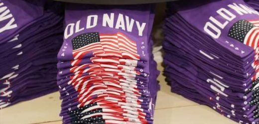 Old Navy's Fourth Of July Flag Tees Are Purple This Year & It's For A Good Reason