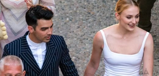 Sophie Turner and Joe Jonas Look Completely Blissful as They Attend a Prewedding Party