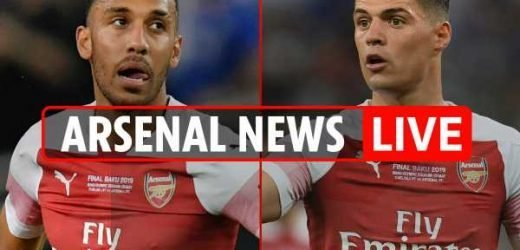 8.30am Arsenal transfer news LIVE: Man Utd want £70m Aubameyang, Edu appointment imminent, Xhaka to Atletico Madrid