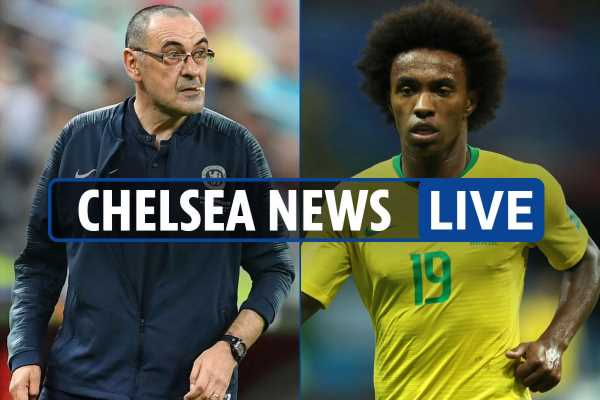 10.20am Chelsea transfer news LIVE: Sarri Juventus compensation agreed, Willian replaces Neymar in Brazil Copa squad