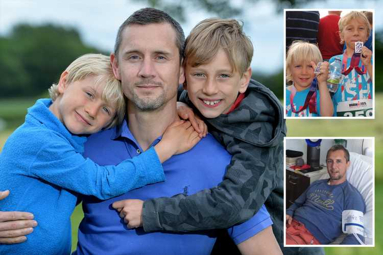 Dad of two with incurable cancer in plea for stranger's stem cells to buy more time with family – The Sun