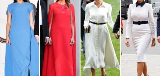 How Melania Trump channelled style icon Meghan Markle to be the real winner of the UK tour