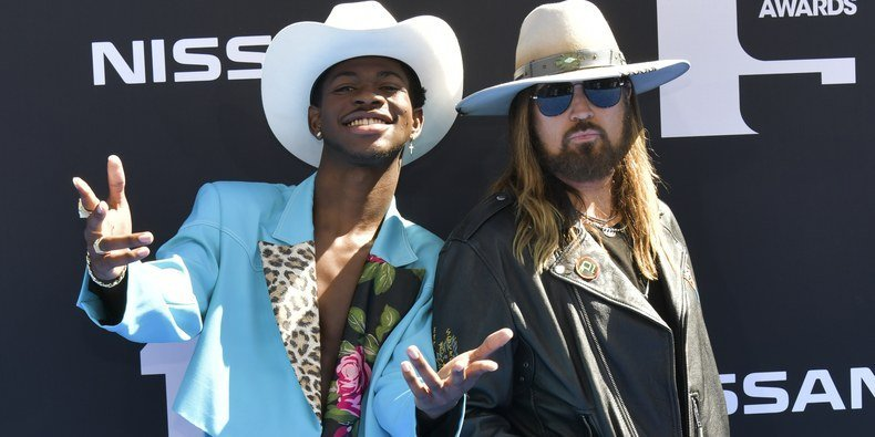 Lil Nas X Rode Into Town and Became an Instant BET Awards Legend