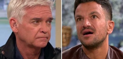 Phillip Schofield tells Peter Andre he had a lucky escape not meeting Michael Jackson after losing dance competition to 'abuse victim' Wade Robson