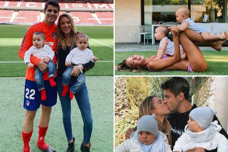 Alvaro Morata house burgled by armed robbers with wife Alice Campello and twins inside while Chelsea star was on Spain duty