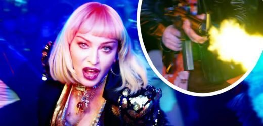 WHOA! Madonna's New Music Video Shocks With Graphic Mass Shooter Scene!