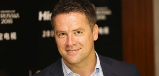 How old is Michael Owen, and what is the Soccer Aid star and former Liverpool and Manchester United forward's net worth?