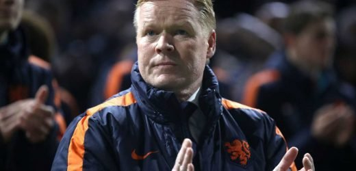 Ronald Koeman will not leave the Netherlands job even if Barcelona sack Ernesto Valverde and come calling