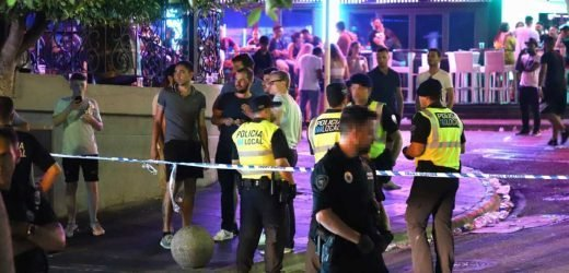 Four Brits stabbed in Magaluf after 'wallets and phones stolen' on party strip