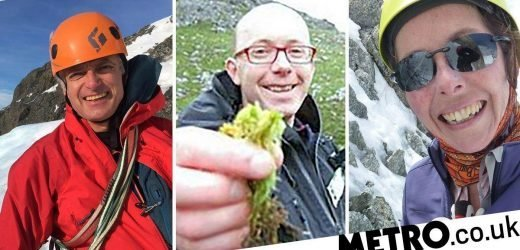 Brits missing after attempting unclimbed Himalayas peak 'may never be found'