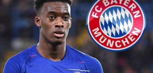 Bayern Munich 'still keen on Chelsea's Callum Hudson-Odoi transfer' but will only pay £20m for winger this summer