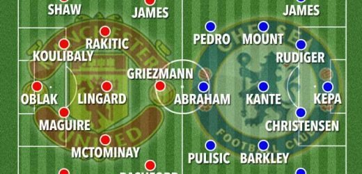 How Man Utd vs Chelsea could line up on first day of season with Lampard in charge of Blues and Griezmann and Maguire in action