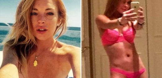 Lindsay Lohan sends fans wild as she strips fully naked for sexy snap – The Sun