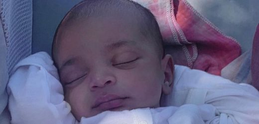 Aww! Psalm West Looks So Peaceful in This New Close-Up Photo