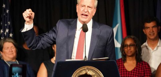 Note to de Blasio: Either run the city full-time or resign