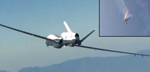 Iran warns it is 'prepared for war' after shooting down US drone