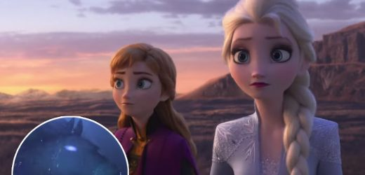 Stunning New 'Frozen 2' Trailer Introduces the Water Spirit Nokk