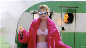 Every Single Rainbow Look Taylor Swift Rocks In Her 'You Need To Calm Down' Music Video