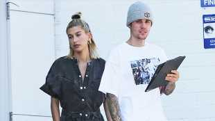 Hailey Baldwin, Bella Hadid & More Stars Showing Off Curves In Denim Jumpsuits