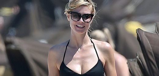 Heidi Klum, 46, & Mom Of 4 Brushes Her Teeth In Nothing But Underwear & Exudes Total Confidence