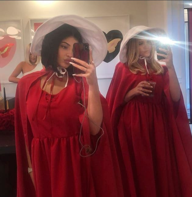 Kylie Jenner Threw a Handmaid's Tale-Themed Party and Fans Are NOT Happy!