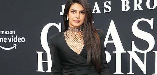 Priyanka Chopra Reveals Toned Legs In Sexy Thigh-High Slit Dress At Jonas Brother Premiere — Pics