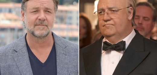 Russell Crowe would rather not talk about Loudest Voice weight gain