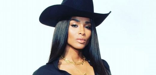 Ciara goes full cowgirl in Cannes