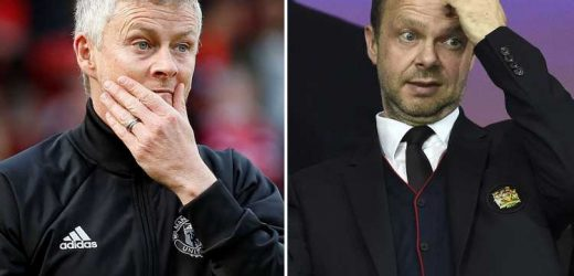 Man Utd scrapped transfer policy strategy after being humiliated by bitter rivals City as Solskjaer and Woodward rushed for late-night talks