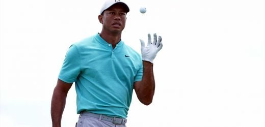 Tiger Woods survives train wreck on 15, has work to do over the weekend at Memorial