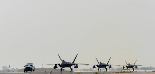 Air Force fighter planes sent to Persian Gulf amid heightened tensions with Iran