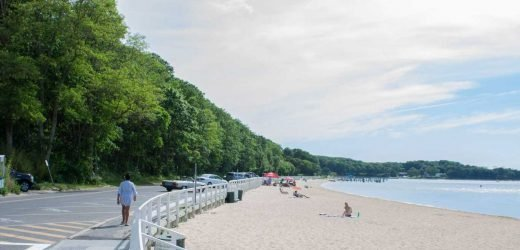 I spent a day on a secluded island that's a 5-minute ferry ride from NYC's ritziest vacation spot. It was immediately clear why the area is known as the 'un-Hamptons.'
