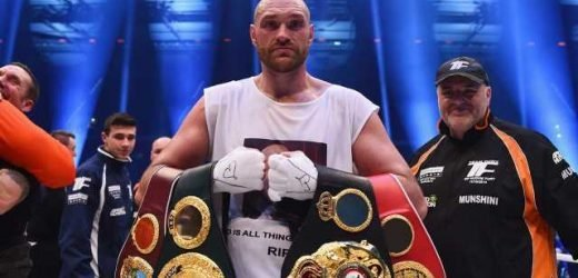 Tyson Fury opens up about mental health struggles after reaching boxing's pinnacle