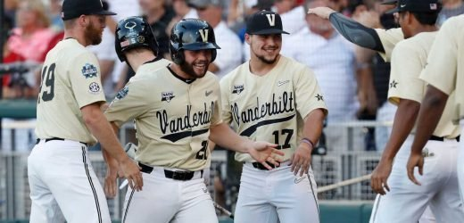 College World Series: Vanderbilt beats Michigan for second national championship
