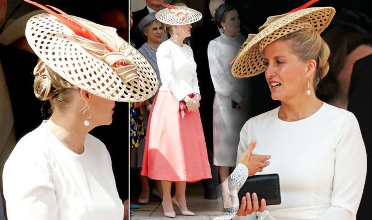Sophie Countess of Wessex wears coral for day out with Kate Middleton – where is Edward?