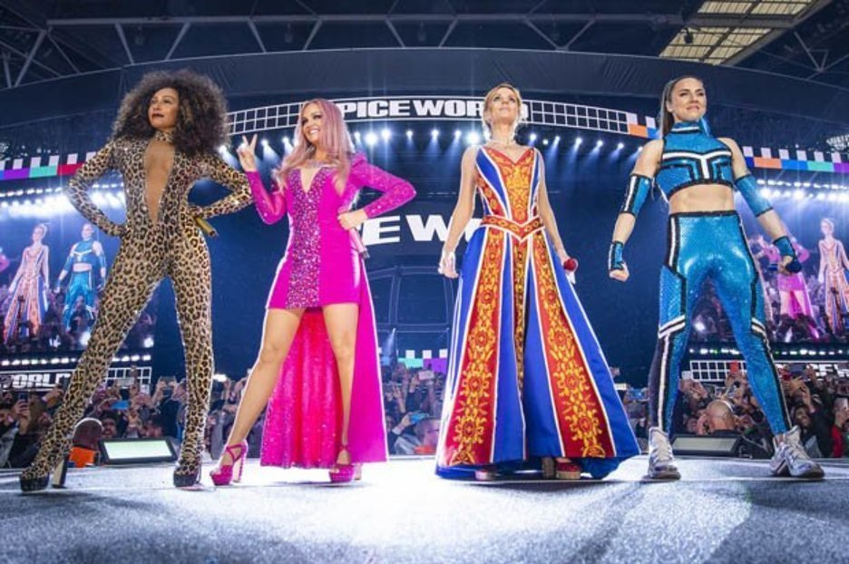 Spice Girls are the embodiment of entertainment in high-energy nostalgia ride