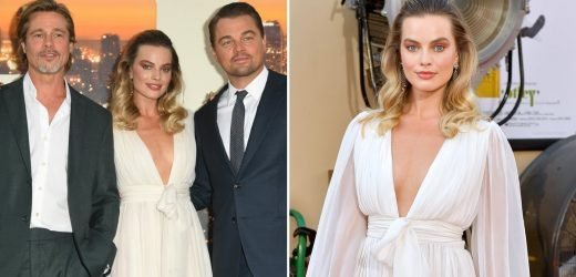 Sorry, Brad and Leo! I Only Have Eyes For Margot Robbie's Dreamy Chanel Dress