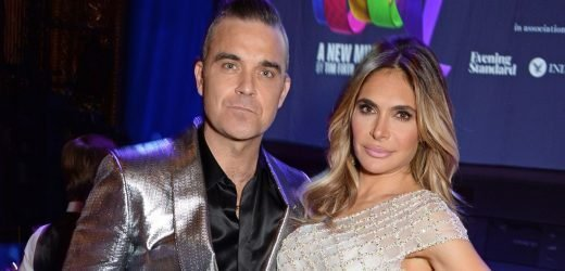 Robbie Williams and Ayda Field to renew wedding vows as she opens up on surprise proposal: 'I had no idea he was going to do that!'