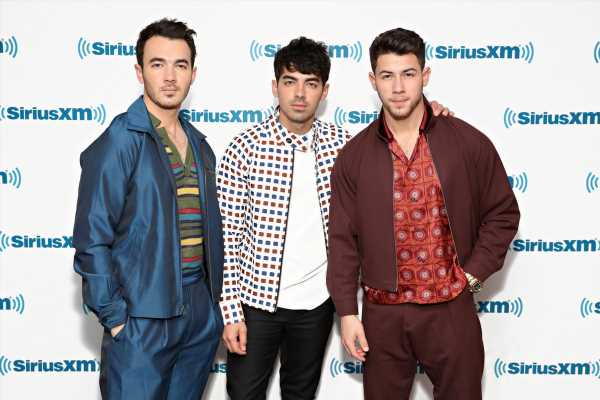 """The Jonas Brothers' FaceApp Photo Takes Their """"Year 3000"""" Lyric Very Literally"""