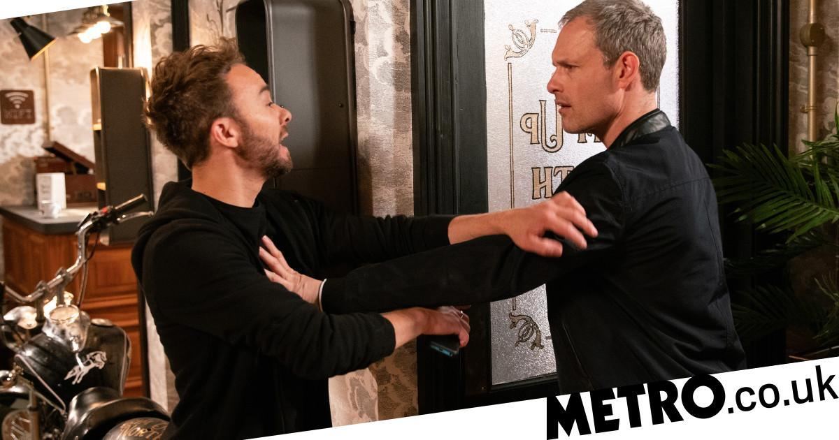 What happened to Nick Tilsley and how did he get a brain injury?