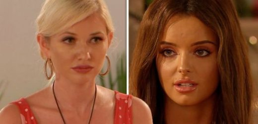 Love Island 2019: Amy Hart hits out at Maura Higgins over Curtis Pritchard confession