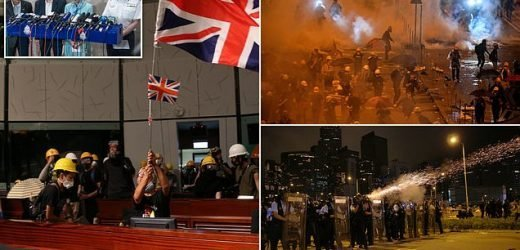 Hong Kong police take back Parliament after protesters storm building