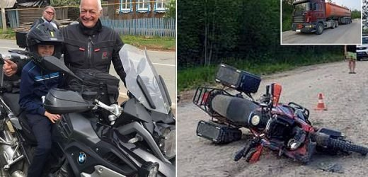 British motorcyclist killed in head-on crash with tanker in Russia