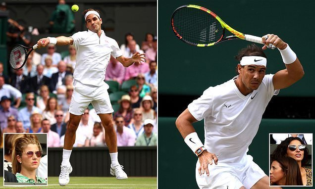 Roger Federer and Rafael Nadal resume Wimbledon rivalry
