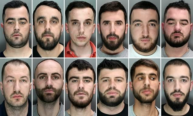 Albanian gang of 12 jailed for 33 years for London cocaine supply