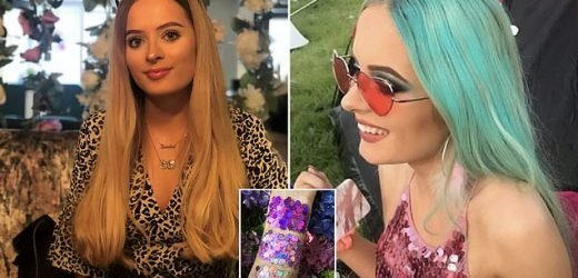 Teen becomes FIFTH biggest seller on Depop by selling festival glitter