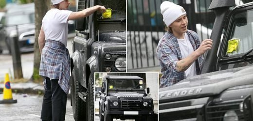 Brooklyn Beckham gets TWO parking tickets in the same day