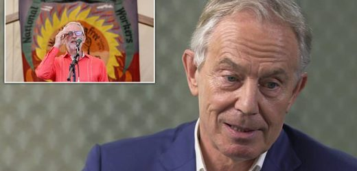 Tony Blair REFUSES to say he will vote Labour at the next election